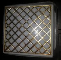 rv interior light covers vintage shasta cer interior light travel trailer rv airstream