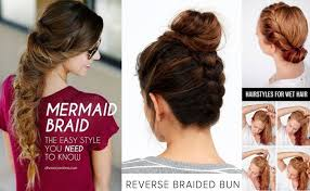 hair tutorials for medium hair easy elegant step by step hair tutorials for long medium hair