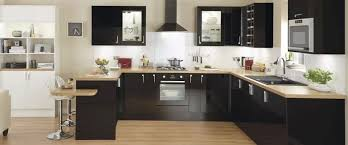 Black Gloss Kitchen Cabinets Wonderful Black Gloss Kitchen Cupboard Doors 3 Click To Enlarge