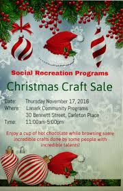christmas craft sale in cp u2014 november 17 the millstone