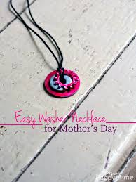 easy diy necklace for mother u0027s day u2013 kid craft a pretty happy home