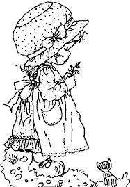 79 coloriage sarah kay images holly hobbie
