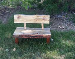 outdoor bench etsy