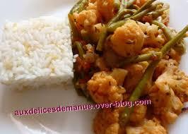 cuisiner des haricots verts surgel marmite de chou fleur haricots verts tomates aux épices cajun et