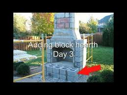 Stone Fireplace Kits Outdoor - build your own outdoor fireplace firerock fireplace installation