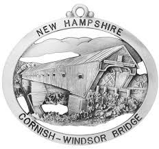 cornish covered bridge ornament
