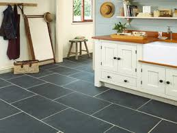 Stone Kitchen Flooring by What Color Floor Tile With Light Color Granite Countertop