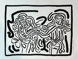 bad bid bad boys by keith haring on artnet auctions