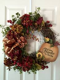 Halloween Door Wreath by Fall Wreathfront Door Wreaththanksgiving Wreath Pumpkin