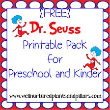free dr seuss printables pack free homeschool deals
