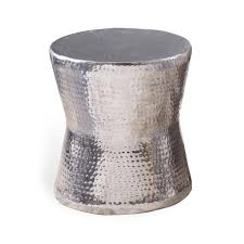 Silver Accent Table Silver Side Table Round Starrkingschool
