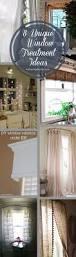 8 unique u0026 affordable window treatment ideas