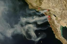 California Wildfires 2007 Environmental Effects by 2007 Space And Astronomy News