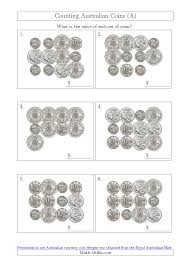 counting australian coins without dollar coins a