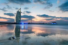 jumeirah beach and the burj al arab i shot this on my very first