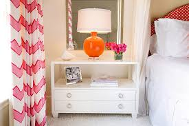 Pink And Orange Bedroom Pink Orange And White In The Bedroom Interiors By Color