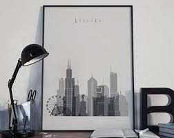 chicago home decor chicago home decor etsy