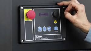 basic operation and maintenance of kohler diesel and gas generator