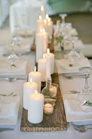 candle runners candles on barn wood wedding table runner http www himisspuff