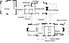 Dogtrot House Floor Plans The Southern Living Idea House By Bunny Williams