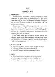 format artikel yang benar format penulisan laporan