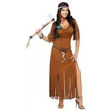 Pocahontas Halloween Costume Women Women U0027s Native American Costumes Ebay