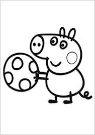 peppa pig family beach coloring book pages videos