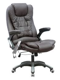 Computer Chair Foxhunter 6 Point Office Computer Chair Luxury Leather