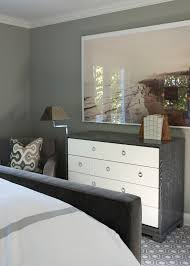 Two Tone Gray Walls by Saugatuck Shores U2014 Sam Allen Interiors