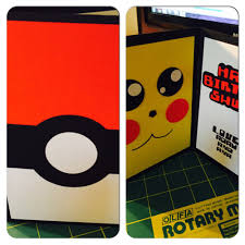 diy pokemon birthday card diy crafting pinterest pokemon