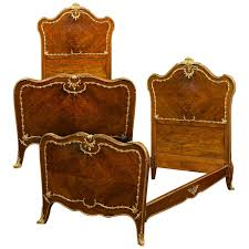 Vintage Bedroom Furniture For Sale by Rococo Style Pair Of Twin Beds For Sale At 1stdibs