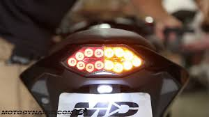 ninja 300 integrated tail light 2013 2017 kawasaki ninja 300 sequential led tail lights smoked lens