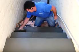 how to form place and finish concrete stairs protradecraft