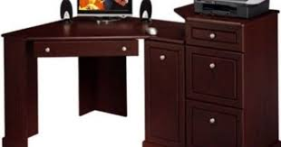 Bush Corner Desks Awesome Wood Corner Desk File Cabinet Furniture Artfultherapy Net