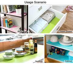 amazon com honla 3 pack vinyl shelf liners for kitchen cabinets