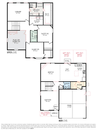 Floor Plan Layout by Cbh Homes Sienna 2248 Floor Plan