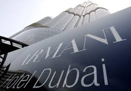 Taller buildings and more luxurious Armani Hotel Dubai World Quest