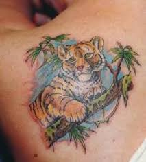 sweet small tiger tattoo tattoo designs tattoo pictures