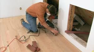 Squeaky Laminate Floor Fix Installing Hardwood Flooring Buildipedia