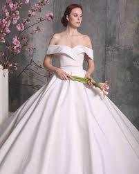 the shoulder wedding dresses 28 two wedding dresses martha stewart weddings