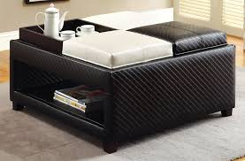 Ottoman With Shelf Buy Furniture Of America Cm Bn6712 Reni Ottoman With 4 Trays