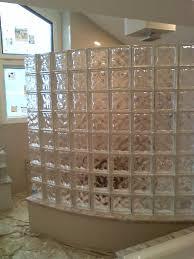 glass block bathroom designs glass block showers glass block shower kits