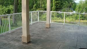 Stamped Patio Designs by Stone Texture Concrete Stamping Stamped Concrete Patio