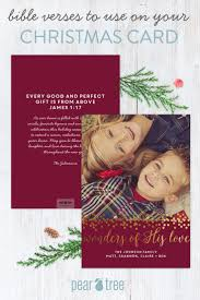 beautiful bible verses to use on christmas cards pear tree blog