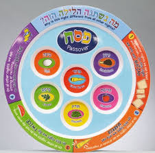 what s on a seder plate children s melamine seder plate