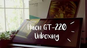 amazon black friday deals huion huion gt 220 v2 display tablet unboxing so pretty youtube