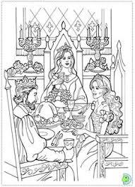 princess leonora print princess coloring