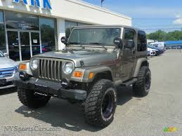 2005 jeep wrangler x 4x4 in light khaki metallic photo 18