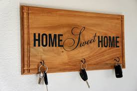 spruce up an existing area with a new home sweet home key