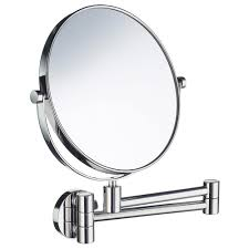 bathroom shaving mirrors wall mounted smedbo outline wall mounted shaving make up mirror outlines wall